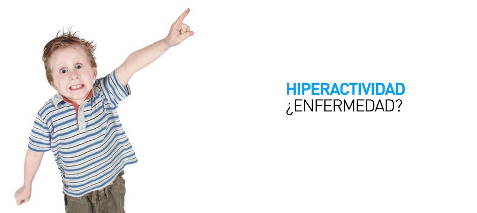 la hiperactividad no es una enfermedad
